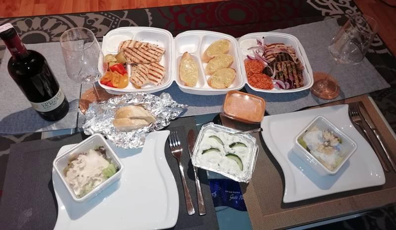 Essen ausser Haus